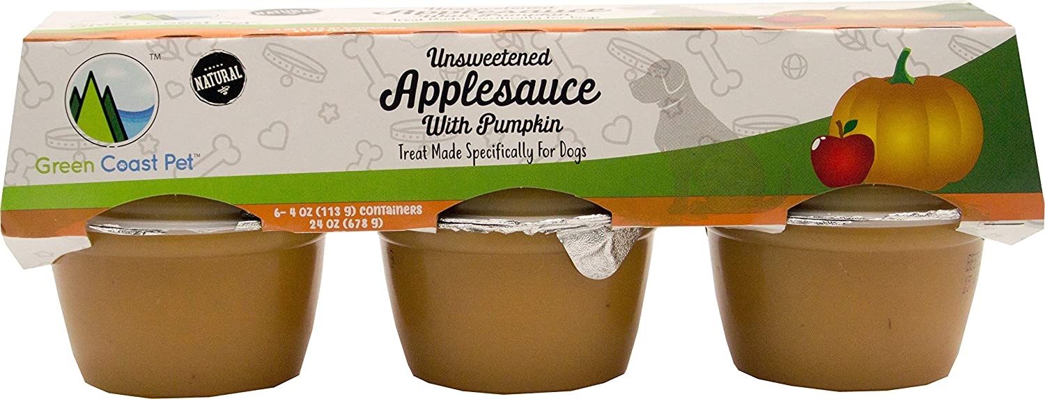 Green Coast Pet Unsweetened Applesauce for Dogs