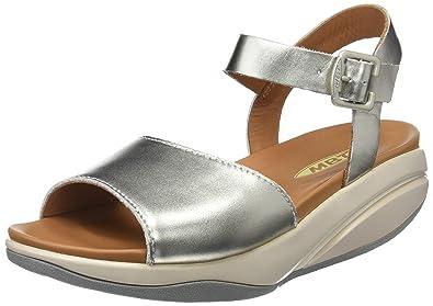 Womens Kizzy W Sling Back Sandals, Gold Mbt