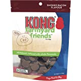 KONG - Farmyard Friends - All Natural Dog Treats (Best used with KONG Classic Rubber Toys) - Smoked Bacon