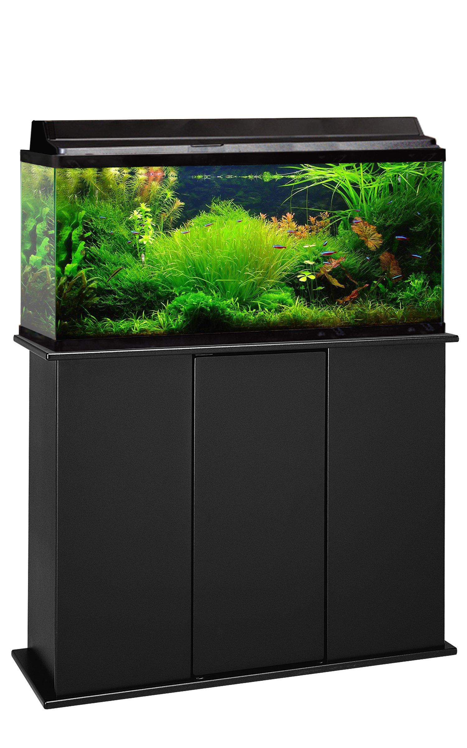 Aquatic Fundamentals AMZ-16301 Aquarium Stand, Upright, Black by Aquatic Fundamentals
