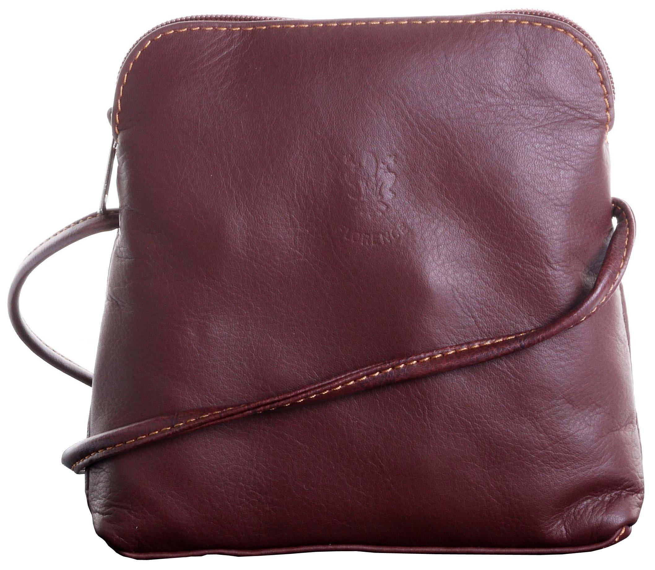 ad0344b8eb36 Primo Sacchi® Italian Soft Leather Hand Made Small Micro Cross Body  Shoulder Bag Handbag