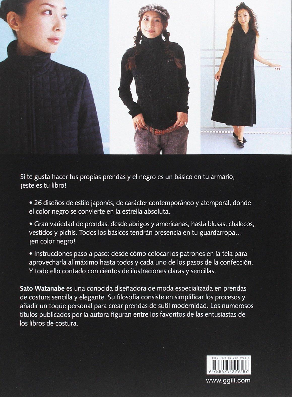 Negro básico: 26 modelos para el guardarropa contemporáneo: Sato Watanabe: 9788425229787: Amazon.com: Books