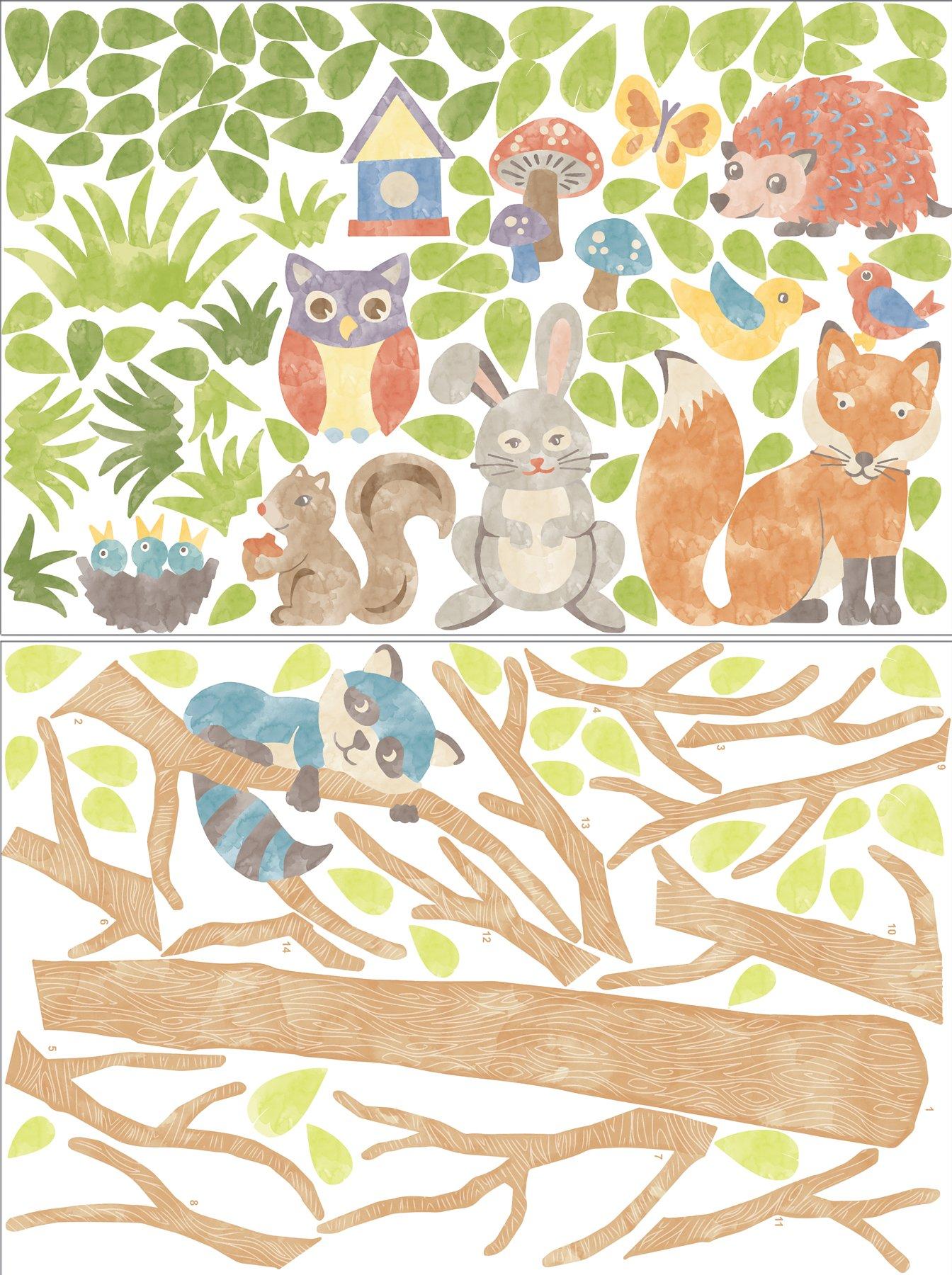 Wall Pops WPK1164 Woodland Tree Kit - - Amazon.com