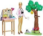 Barbie - Barbie Nat Geo Cuidadora de Borboletas, Mattel, GDM49, Multicor