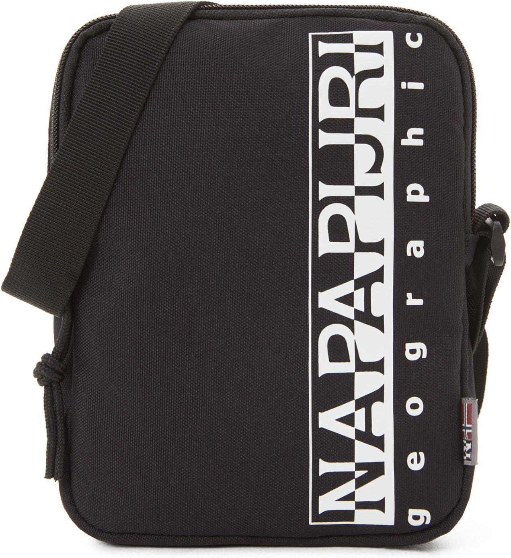 Napapijri HAPPY CROSS SMALL Bolso bandolera, 20 cm, Negro (Black): Amazon.es: Equipaje