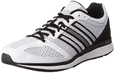 check out d187a 76e3a adidas Herren Mana Rc Bounce M Laufschuhe, Blanco (FtwblaFtwbla  Negbas)