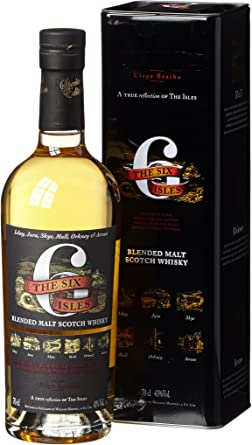 Six Isles Blended Malt Scotch Whisky, 1er Pack (1 x 700 ml ...