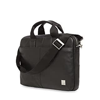 Knomo Luggage Men's Stanford Briefcase, Black, One Size