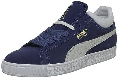 7f5c0393c42 Puma Mens Stepper Classic Low Top Blue Blau (ensign blue-white 04) Size