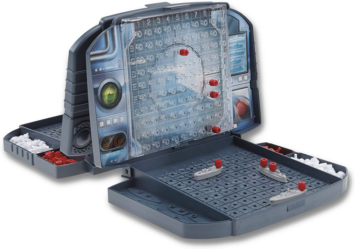 Amazon Com Battleship Classic Board Game Strategy Game Ages 7 And Up For 2 Players Toys Games
