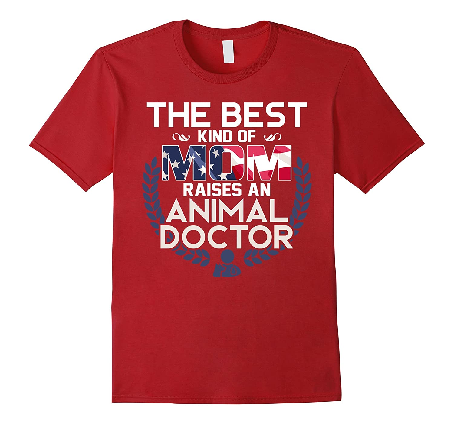 Best Mom Raises an Animals Doctor, Parents' Day Gift for Mom-Art