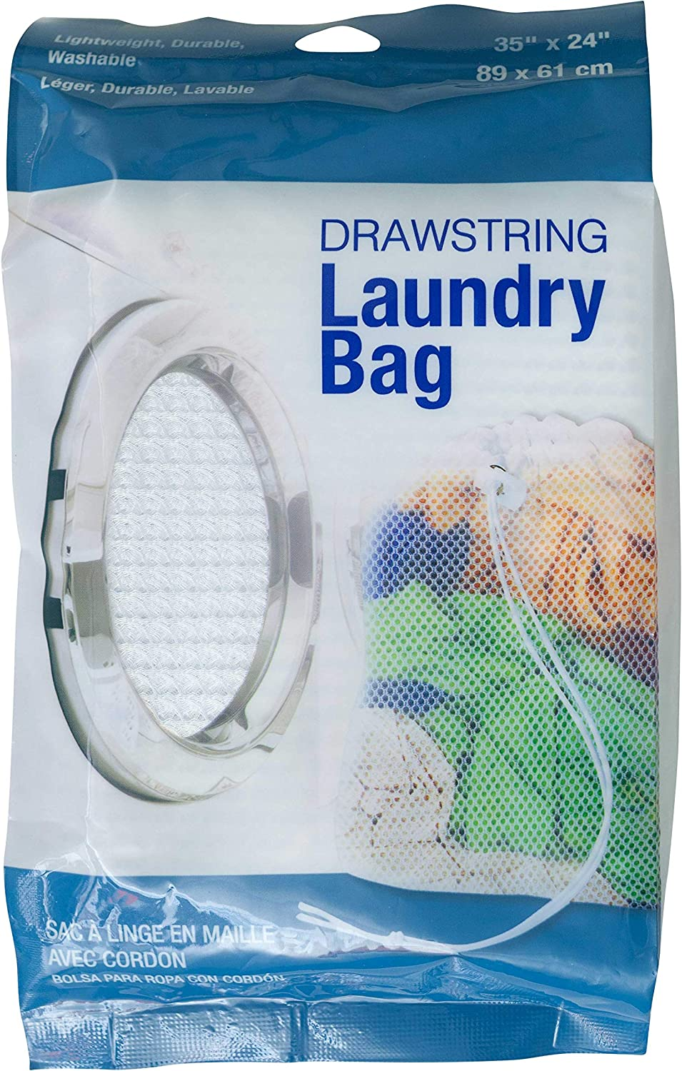 Jacent Drawstring Laundry Bag - 35 x 24 Inch - 1 Pack