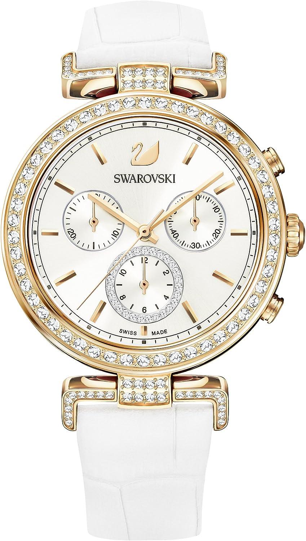 Swarovski reloj Era Journey, baño de PVD en tono oro rosa, para mujer