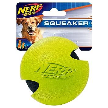 Nerf Envuelto de Goma Perro Pelota de Tenis: Amazon.es: Productos ...