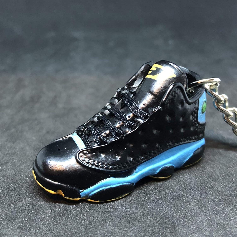 new arrival 3f058 72bed Amazon.com : Pair Air Jordan XIII 13 Retro CP3 Black Blue PE ...