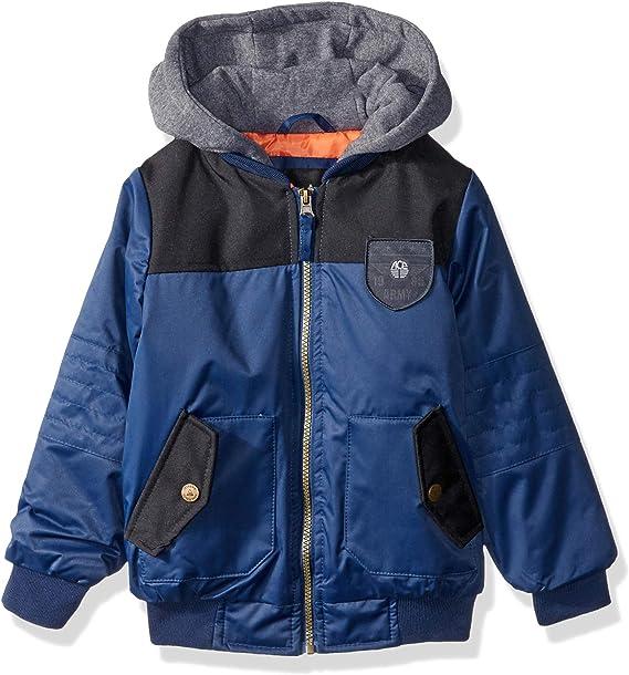 iXtreme boys Fleece Bomber Jacket With Hood