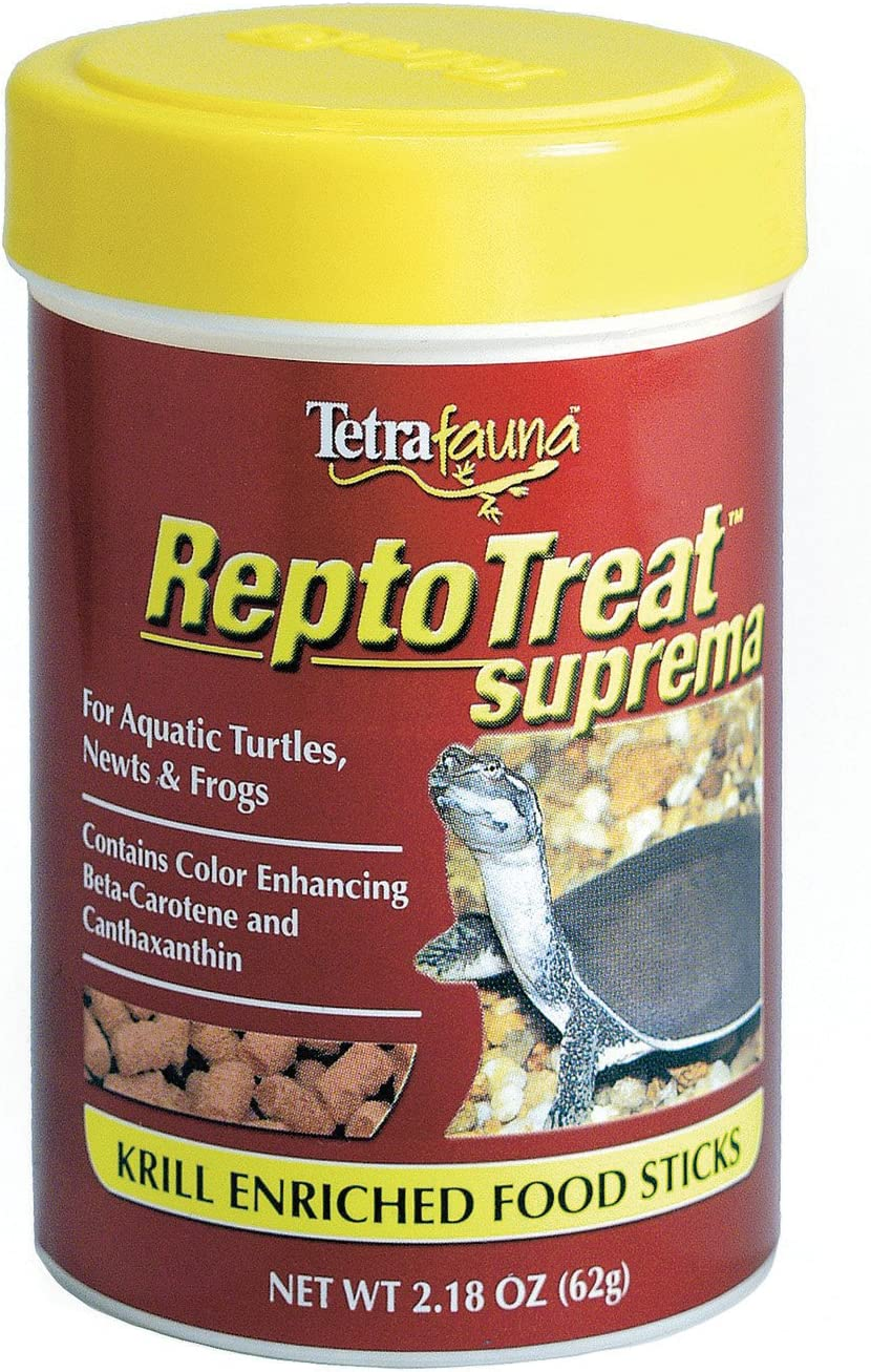 TetraFauna ReptoTreat Suprema 2.18 Ounces, Food Supplement for Aquatic Turtles, Newts and Frogs