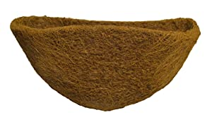 Bosmere F528 Replacement Coco Fiber Basket Liner for 16-Inch Half Baskets