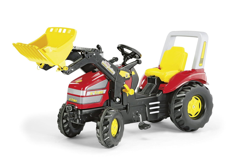 Rolly Toys X-Trac mit Zweigangschaltung und Bremse Trettraktor