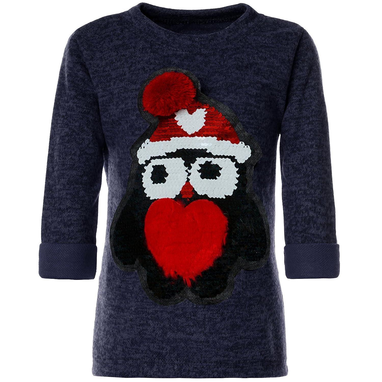 BEZLIT Mädchen Pullover Wende-Pailletten Sweatshirt 21600