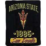 "NCAA Collegiate ""Varsity"" Super Soft Plush Throw Blanket"