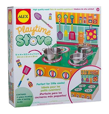 Amazon.com: ALEX Toys Playtime Stove: Toys & Games