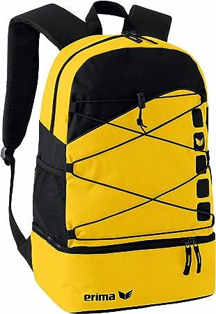 Erima GmbH 723343 Mochila Multifunción con Compartimento Inferior, Unisex, Amarillo/Negro, 1: Amazon.es: Deportes y aire libre