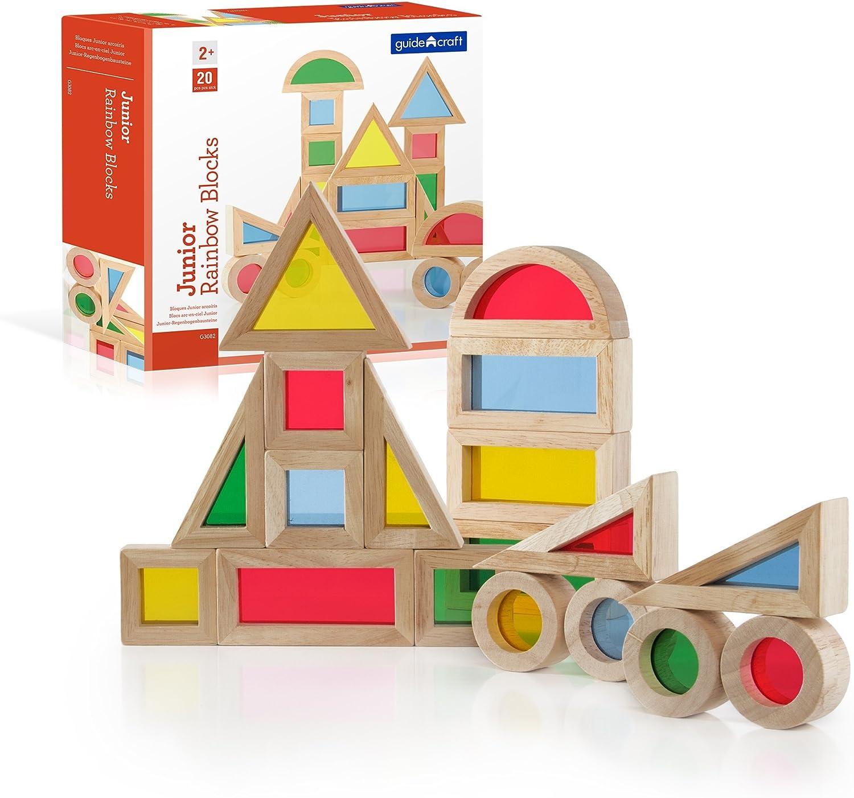 Conjunto bloques sensoriales de madera