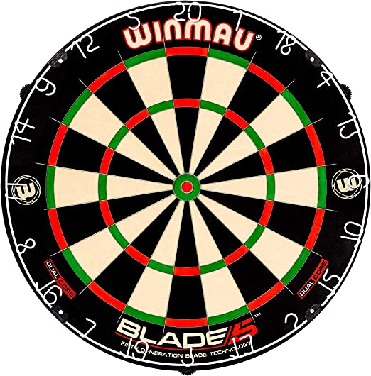Winmau Blade 5 Dual Core Bristle Dartboard - Dual-Core Technology