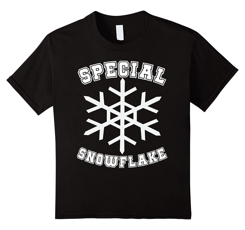 Mens Special Snowflake T Shirt Christmas-Xalozy