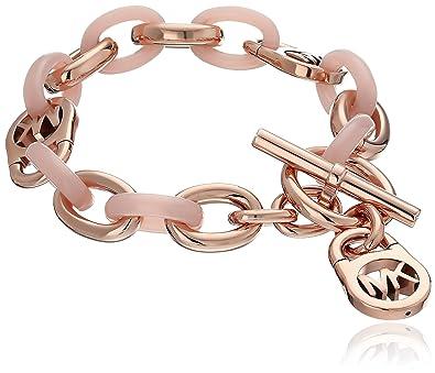 b9305448ef3c Amazon.com  Michael Kors MK Fulton Toggle Link Bracelet  Jewelry