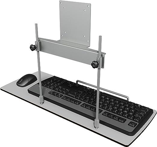 Dataflex 51.582 Tastatur und Mausablage, Metall, Silber