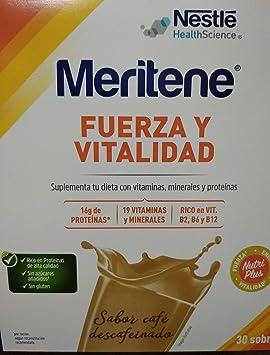 Meritene fuerza y vitalidad duplo café descafeinado (30 ...