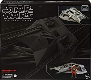 Star Wars The Black Series Snowspeeder Vehicle with Dak Ralter Figure 6-Inch-Scale The Empire Strikes Back Collectible Toys