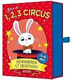 Cartes à jouer Auzou - Jeu de 1, 2, 3, circus
