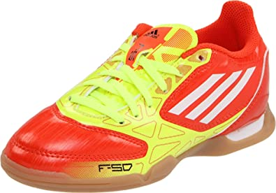adidas F5 Soccer Cleat (Little Kid/Big Kid),High Energy/Electricity