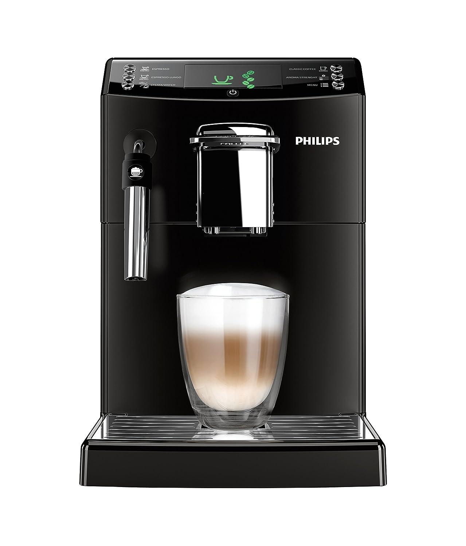 Philips Serie 4000 Cafetera Express, automática, 1850 W, 1.8 litros, plástico, negro