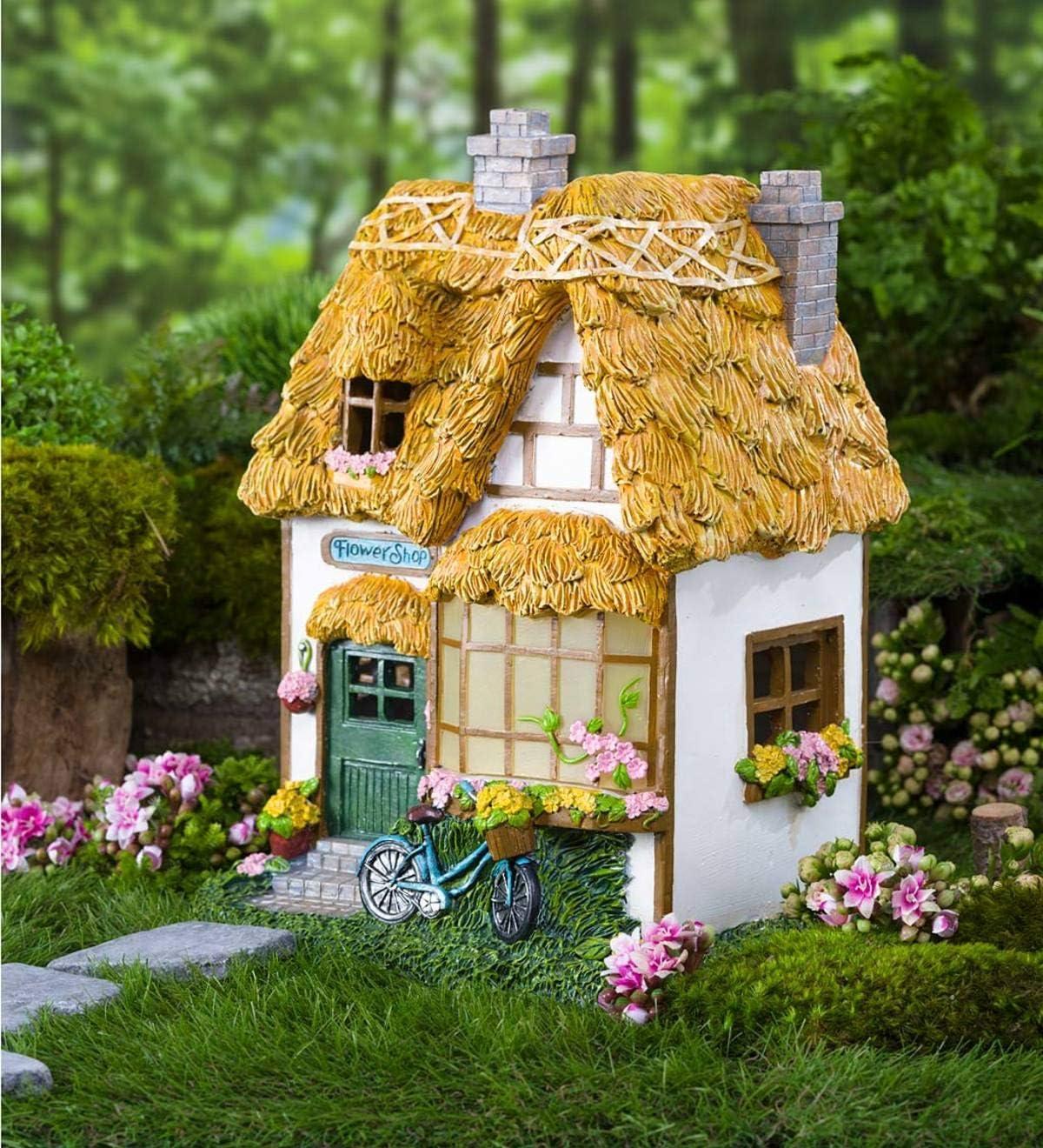 Accessories Miniature Dollhouse FAIRY GARDEN Woodland Cottage
