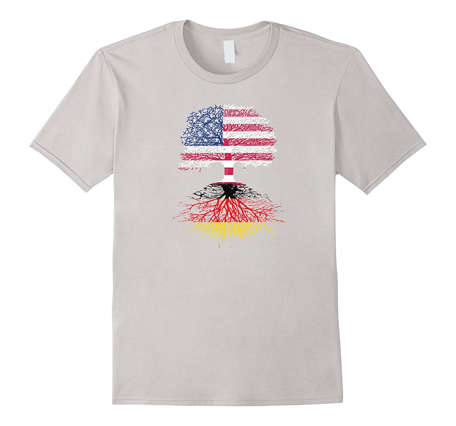 American Citizen with German Roots T-Shirt-TH