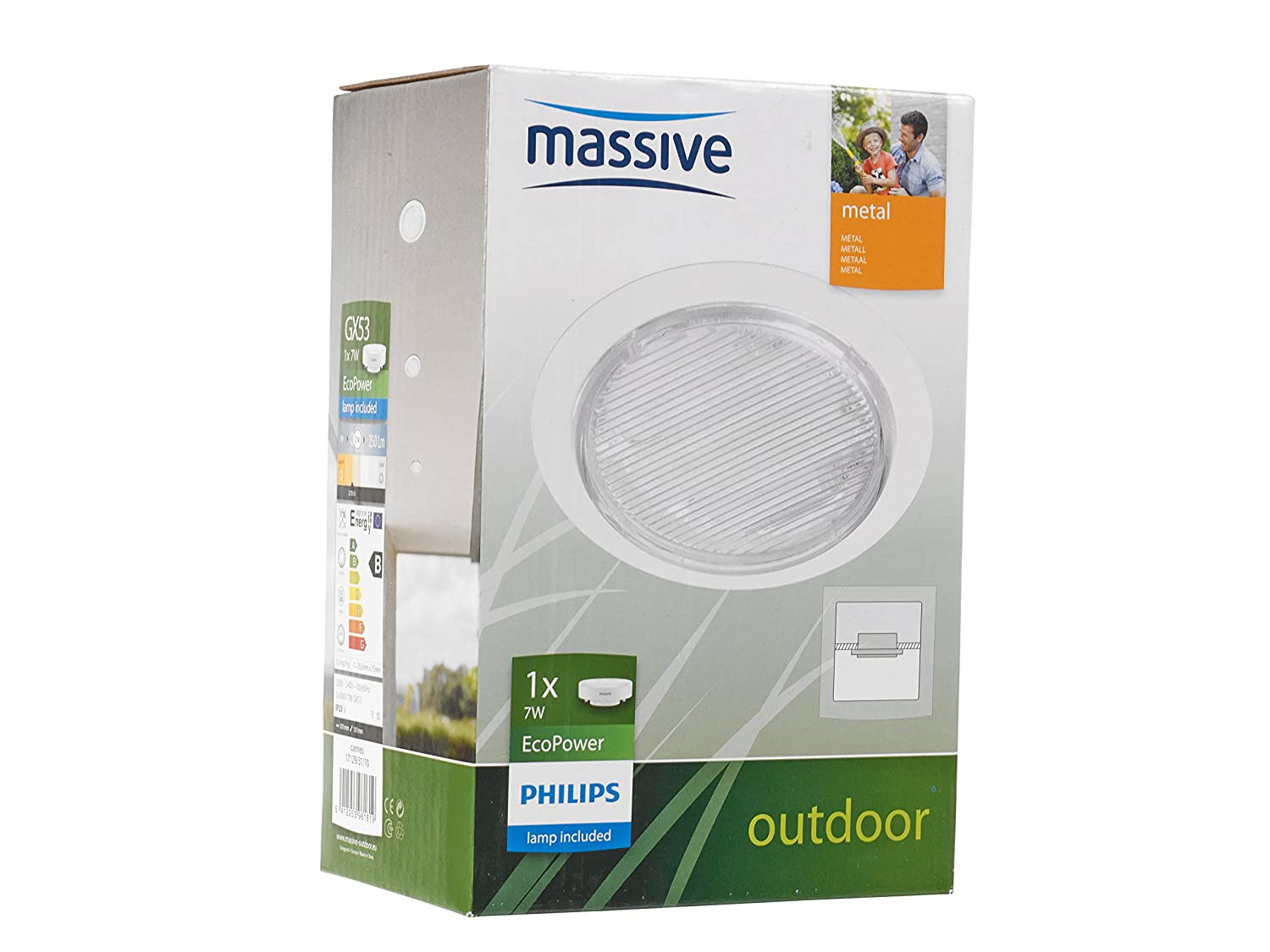 Amazon.com: Philips MASSIVE Outdoor Light For Wall Or ...
