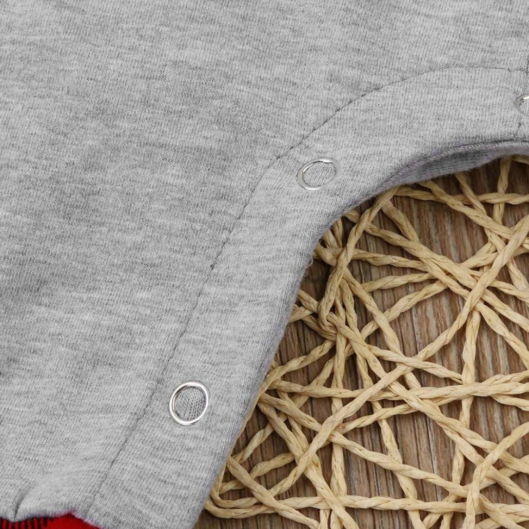 Baby Plaid Kleidung Set Neugeborene Jungen M/ädchen Jumpsuit Langarm Hooded Strampler Overall Tops Bodysuit Outfits Jumpsuit Spielanzug Set Style/_Dress Strampler