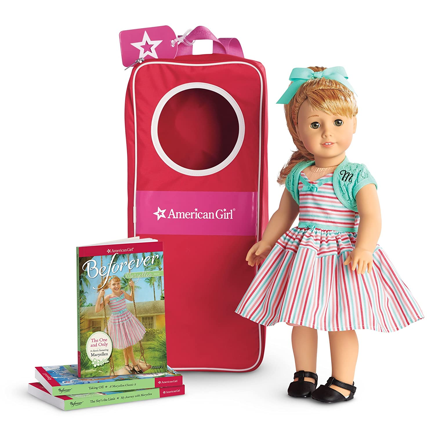 """American Girl Maryellen Doll, Book & Backpack Collection"""