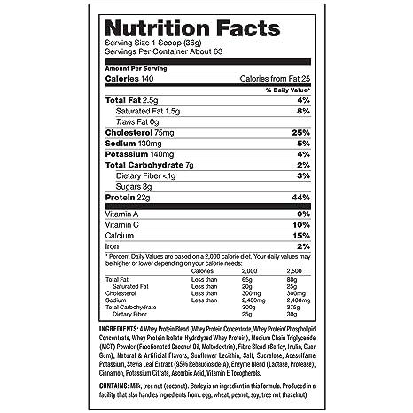 Amazon.com: Suplemento de proteína de suero de leche Mutant ...