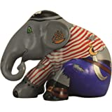 Elefant Parade Limited Edition Replica Elefant–pira-phant, Polyresin, 10 cm