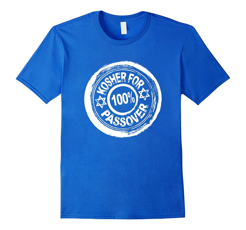 100 Kosher For Passover Funny Jewish Pesach Holiday T Shirt-Vaci