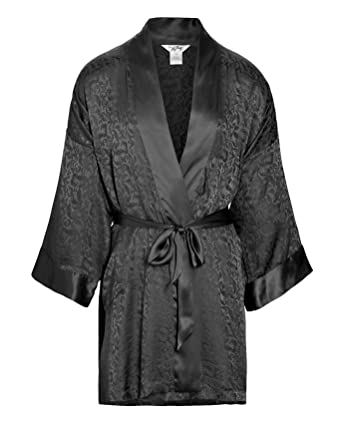 fe7d691b9d Nyeez Men s Classic Silk Robe Kimono Bathrobe at Amazon Men s Clothing  store
