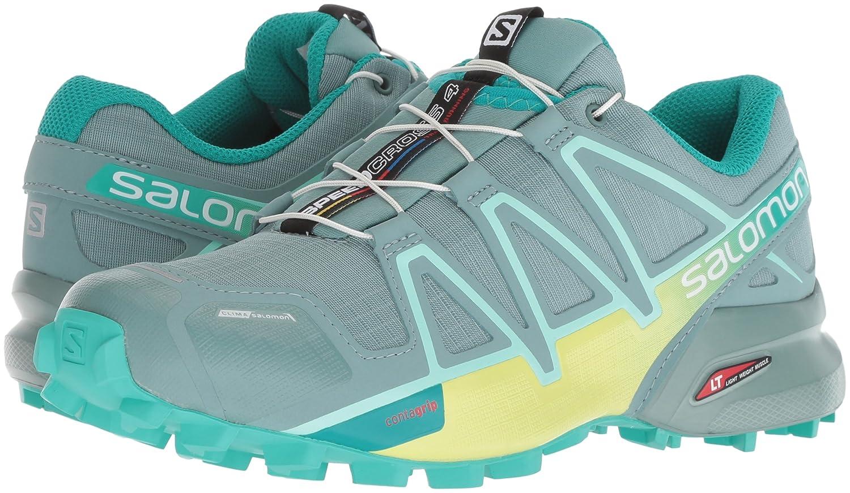 Salomon Women's Speedcross 4 CS W Trail Runner B078SY43N1 8 M US|Trellis/Sunny Lime/Atlantis