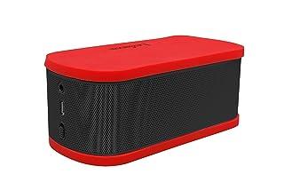 LEXIBOOK BT200 - Mini Altoparlante Bluetooth, Batteria Ricaricabile, Blu e Rosso