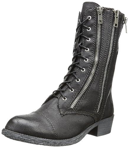 Amazon.com | Rbls Women's Lorena Combat Boot | Ankle & Bootie