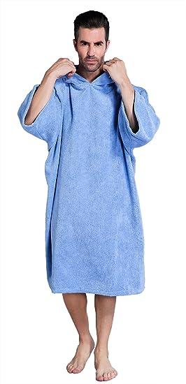 41023b644ebbd6 Winthome Changing Towel Robe, Surf Poncho (Blue): Amazon.ca: Sports ...